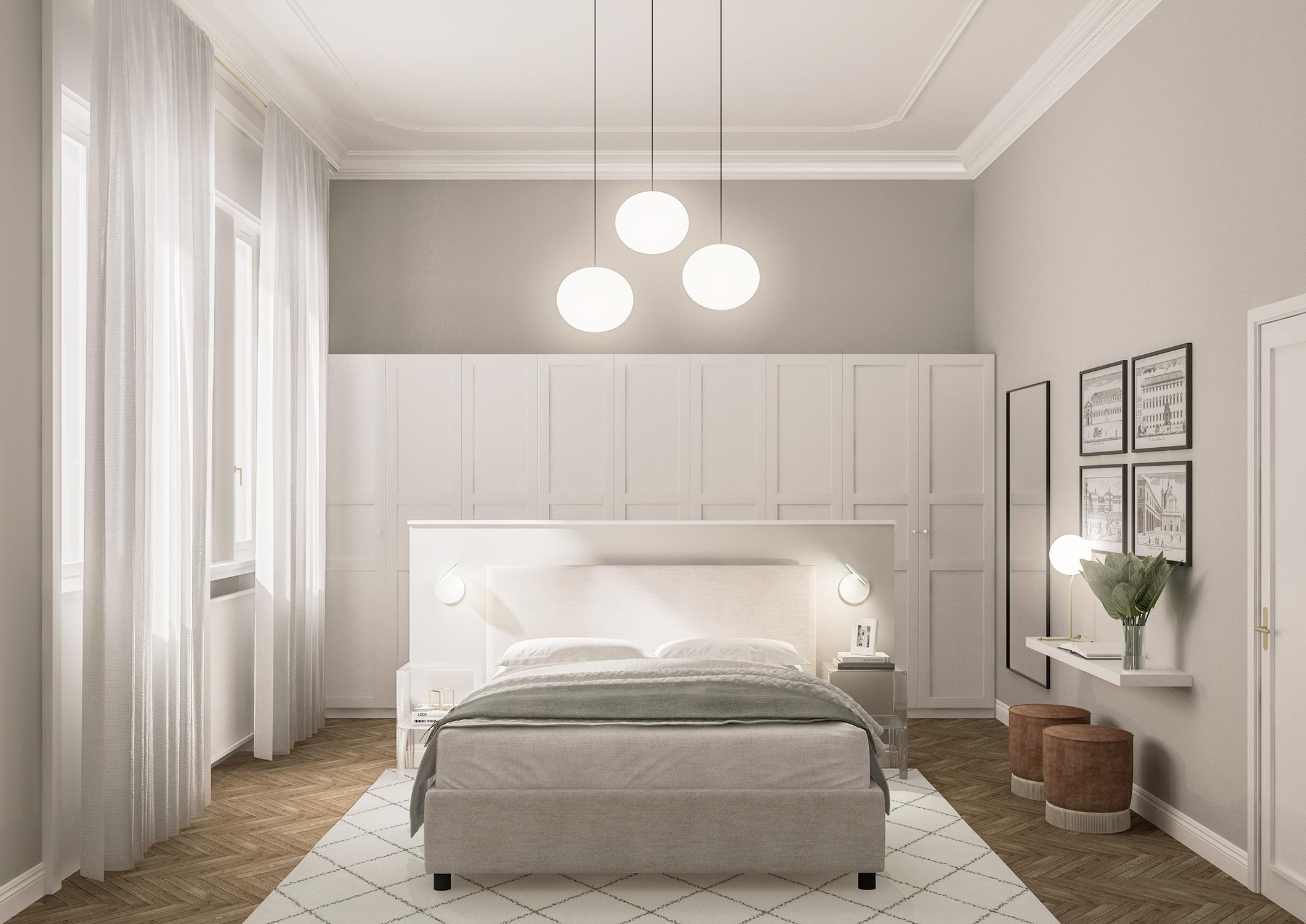 Appartamento in Milano, Magenta - Real Estate - camera - render