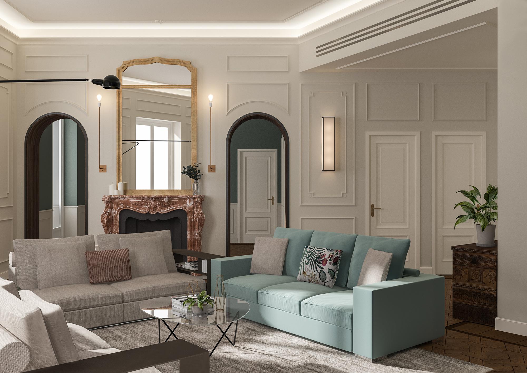 Appartamento in Milano, Magenta - render 2