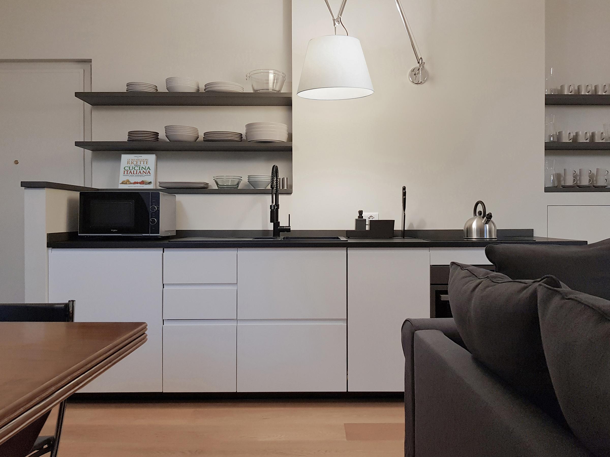 Mansarda in Milano, Magenta - cucina - fotografia